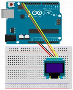 esquema OLED arduino